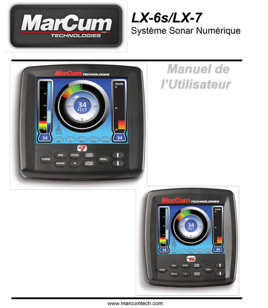 MarCum LX6 and 7 French Manual