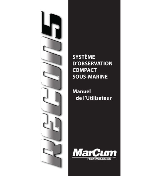 Recon 5 French Manual