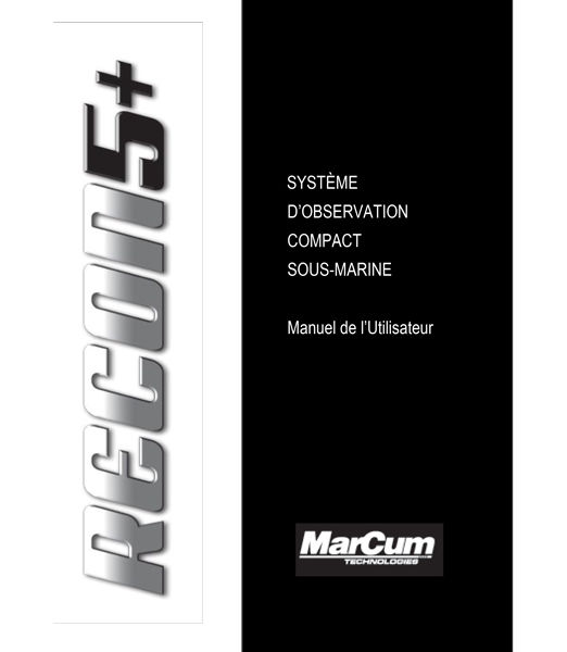 Recon 5+ French Manual