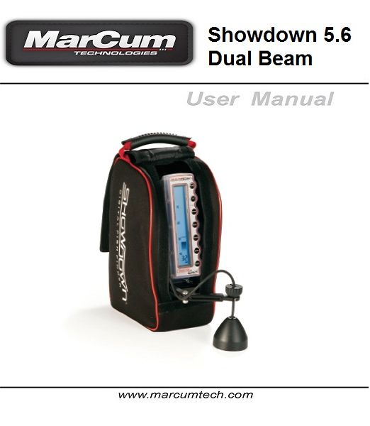 Showdown 5.6 dual beam manual