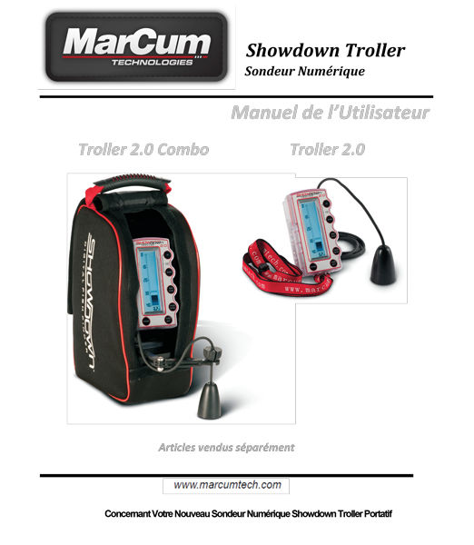 Showdown Troller 2.0 French Manual