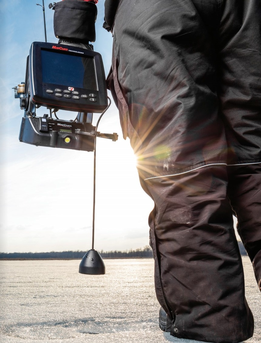 Ice Fishing Flasher Mount