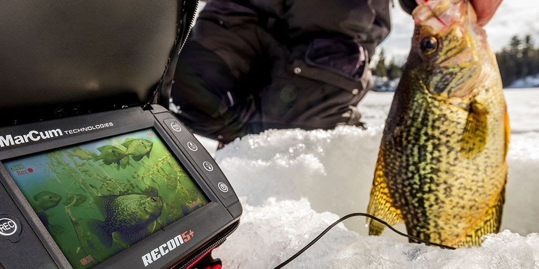 MarCum Recon 5+ Underwater Camera Recording
