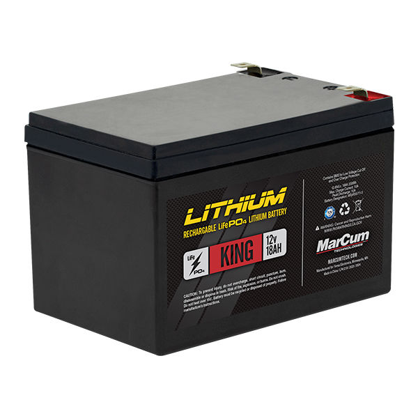 LP41218_12v18amp LiFePO4 King Battery Only