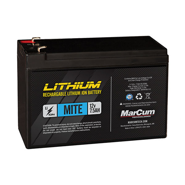 LION1275_12v7.5amp Lithium Ion Battery