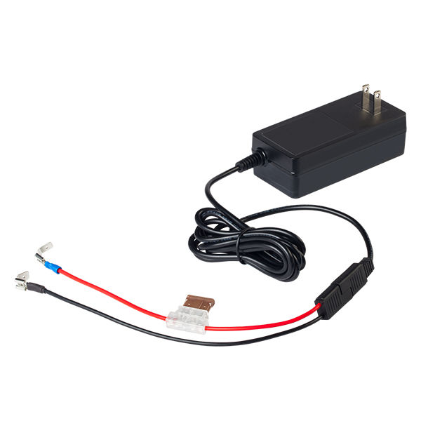 LPCHG123_12v3amp LiFePO4 Charger and wire harness