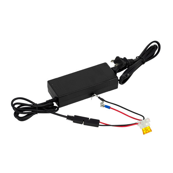 LPCHG126 - 12v6amp LiFePO4 charger with spade harness