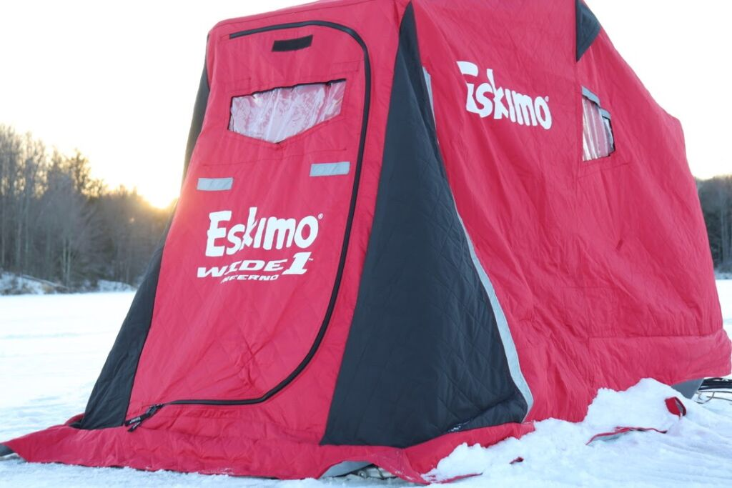 Properly storing your gear and inspecting it prior to the season will ensure you have your fish house when you need it.