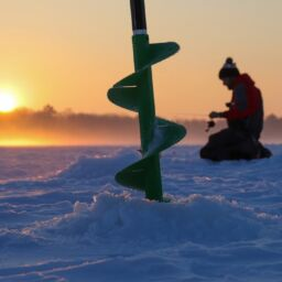 What's the appeal of ice fishing?