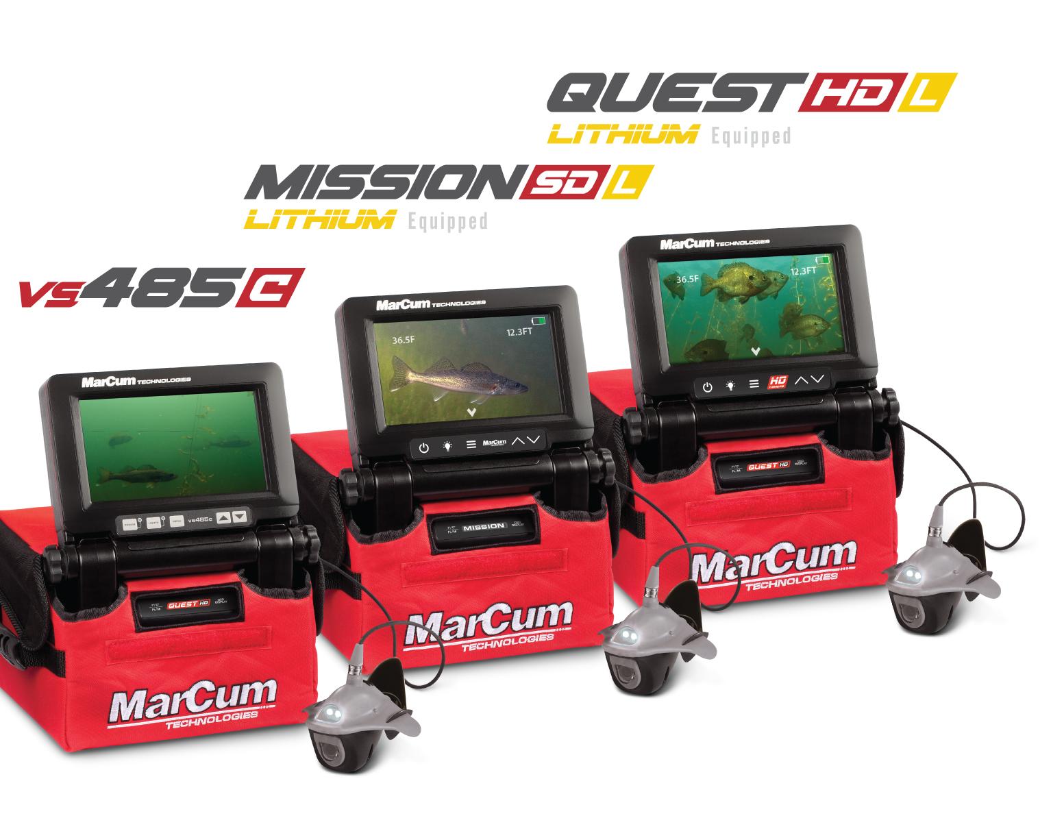 MarCum's Line-up of Sit-n-Fish Cameras 2021