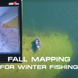 Fall Mapping for Winter Fishing